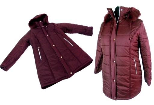 zimowe kurtki mlodziezowe damskie rozmiary 52-54