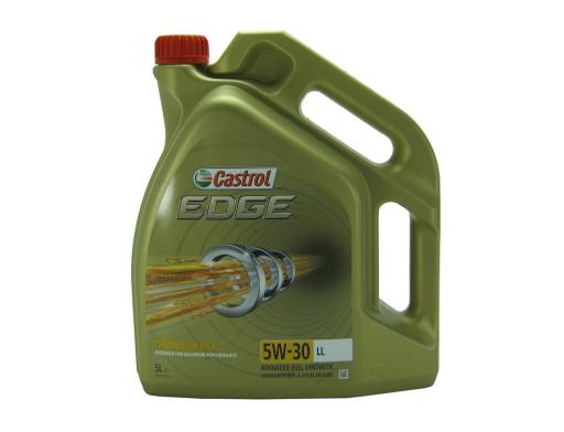 OLEJ CASTROL EDGE Titanium LL 5L 5w30 VW SKODA