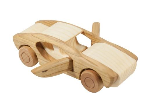 Drewniane Bmw Auto Samochod Z Drewna Drewniany Pl 6434684894 Allegro Pl