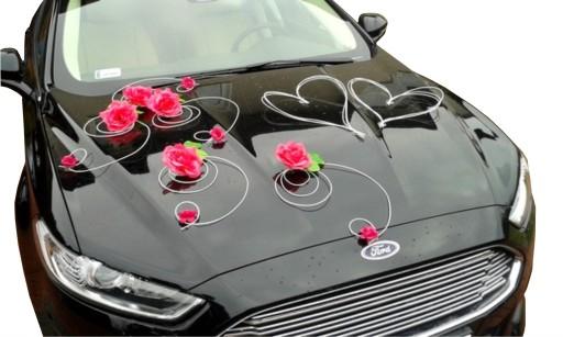 Dekoracja Samochodu Ozdoby Na Auto Do ślubu Kolory 6728275986