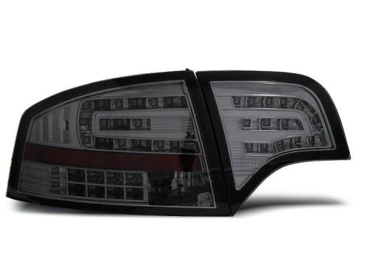 Lampy Tył Audi A4 B7 Sedan Led Czarne Diodowe