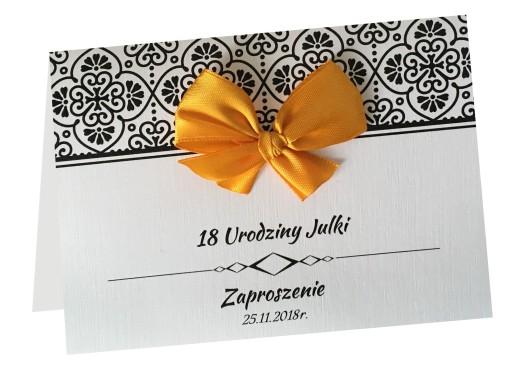Zaproszenia Na Urodziny 18304050 Koperta 7589772223 Allegropl