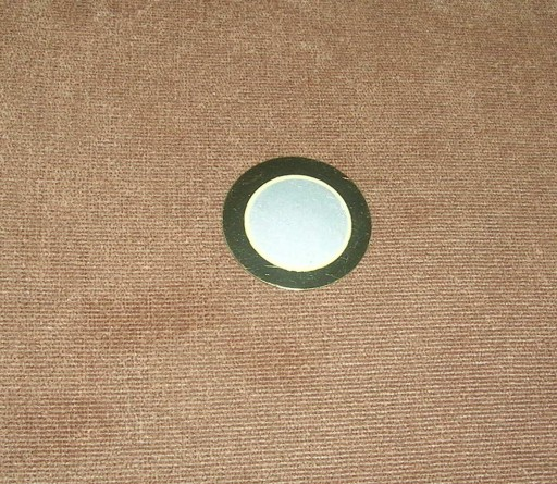przetwornik dźwięku piezoelektryczny średn. 35mm