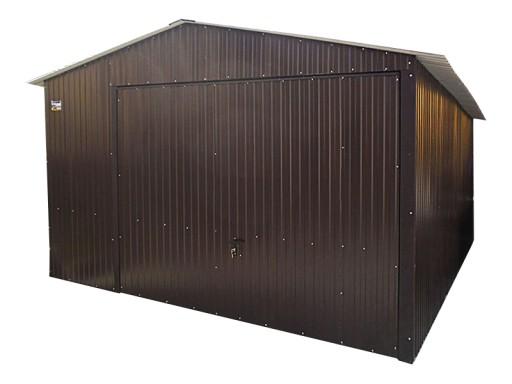 Garaże Blaszane 4x5 Garaż Blaszak Dwuspad Rzeszów 6914375260
