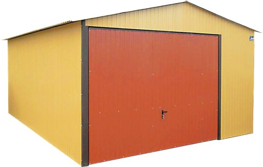 Garaże Blaszane Garaż Blaszany 4x6 Blaszaki 4x5 5694692614 Allegropl