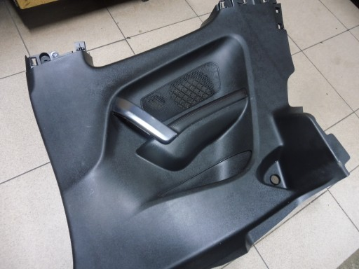 BOCZEK TAPICERKA PRAWY TYŁ PEUGEOT 208 GTI 3D