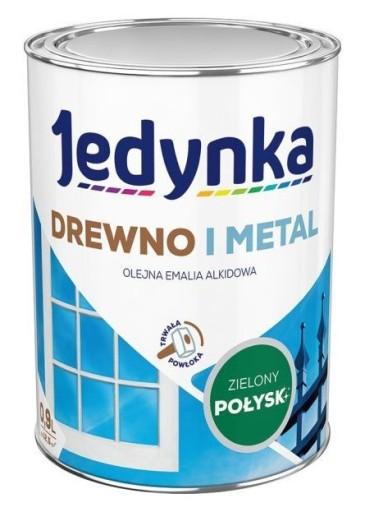 Farba Do Drewna I Metalu Zielona 0 9 L 6234723893 Allegro Pl