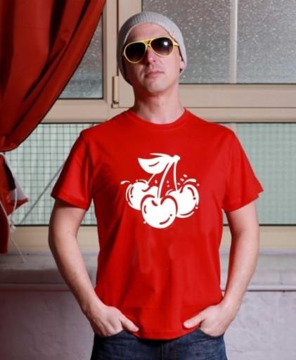 imprezowa Koszulka WEŻ PIGUŁKE - WISIENKI style