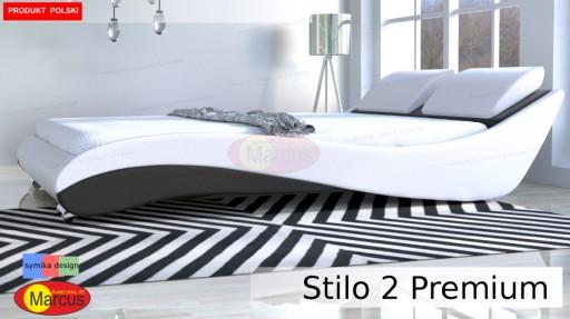 łóżko Z Materacem Stilo 2 Premium 180x200