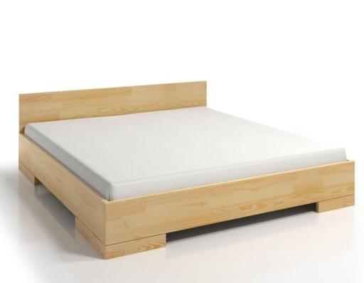 łóżko Dla Wysokich Spectrum Maxi Sosna 200x220
