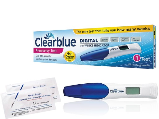 Clearblue Cyfrowy Test Ciazowy 1szt 2p 6632915880 Allegro Pl