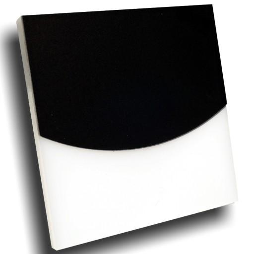 Oświetlenie Schodowe Led 12v Lub 230v Czarna