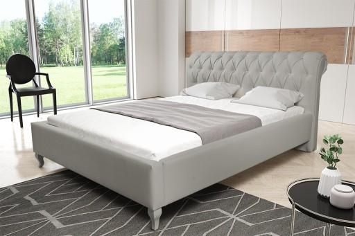 łóżko Tapicerowane 140x200 Z Pojemnikiem 7339227616 Allegropl