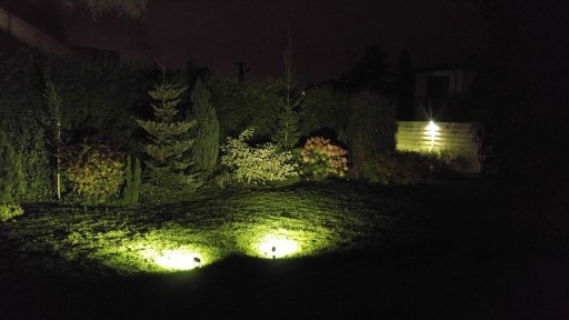 LED Reflektor ogrodowy wbijany w ziemię b. ciepły