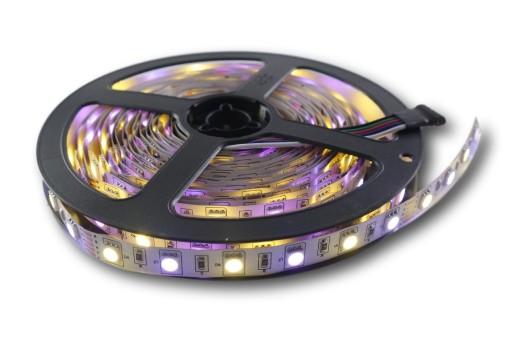 Taśma 5050 300 LED RGBWW kolor + biały ciepły 0.5m