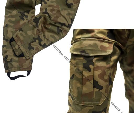 Bojówki MORO Spodnie wojskowe z gumką NOWE  M/R