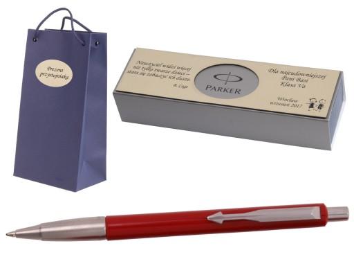 PARKER długopis Vector GRAWER TABLICZKA TOREBKA