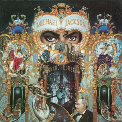 MICHAEL JACKSON Dangerous 2LP WINYL