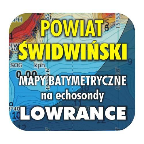 Powiat świdwiński - mapy na echosondy Lowrance BG