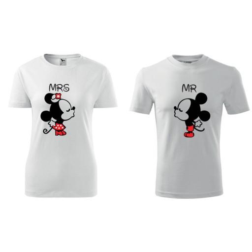 Koszulki Dla Par Love Milosc Walentynki Zakochani 7147001441 Allegro Pl