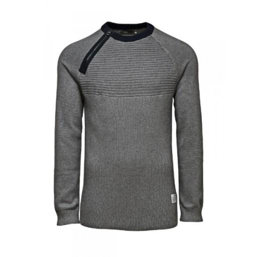 JACK & JONES LIM KNIT sweter_____S 7656841159 Odzież Męska Swetry FB TAJHFB-8