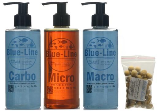 Blue-Line Kompletny zestaw do nawożenia z CO2 500!