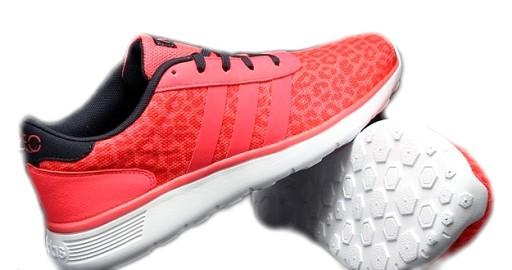 Buty sportowe męskie Adidas Lite Racer różowe F76400