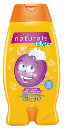 avon KIDS szampon + odżywka NIESFORNA ŚLIWKA 47936