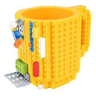Klockowy Kubek Prezent Klocki Lego żółty 7275870293 Allegropl