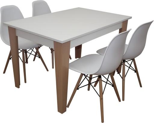 Rozkładany Stół Z 4 Krzesłami 6913416458 Allegropl