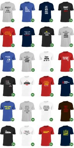 dumny tatuś cÓreczki cÓrki koszulka z nadrukiem 7503274261 Odzież Męska T-shirty FD ZJINFD-7