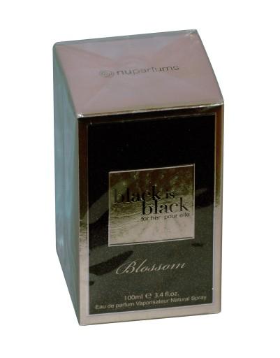 nu parfums black is black blossom