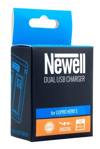 Ładowarka dwukanałowa Newell do Gopro Hero 5 Black