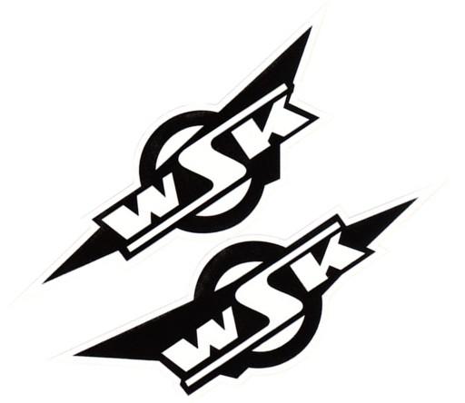 STICKER TRANSFERS NA THE TANK TIN WSK WHITE-BLACK