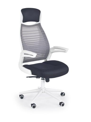 Krzesło biurowe FRANKLIN 24h białe tworzywo 8007429294
