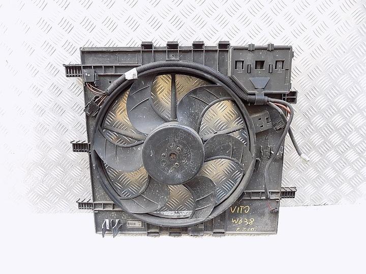 вентилятор радиатора - mercedes vito w638 2.2 cdi