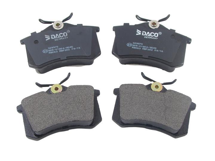 диски x2 колодки зад до audi a4 b6 b7 seat exeo3 - фото