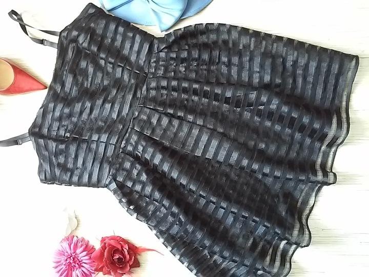 * H & M * SUKIENKA LETNIA CZARNA ORYGINALNA_38 9067197318 Odzież Damska Sukienki PM REWXPM-9
