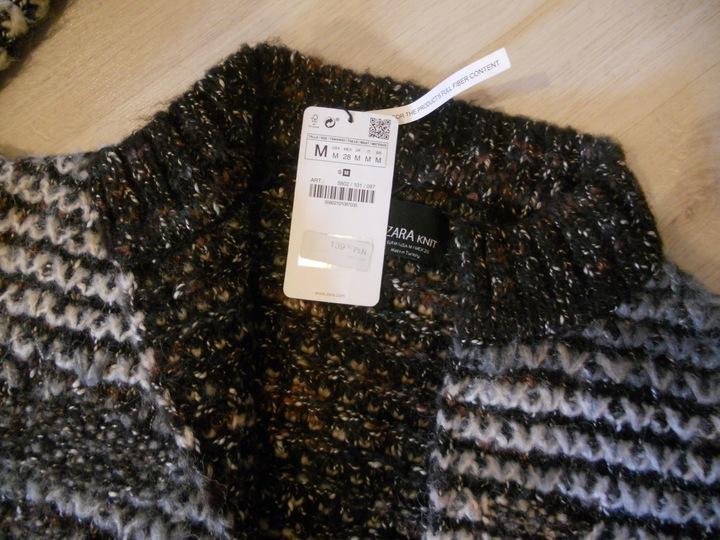 Zara nowy sweter gruby splot r.M 7893999631 Odzież Damska Swetry DT GFTIDT-9