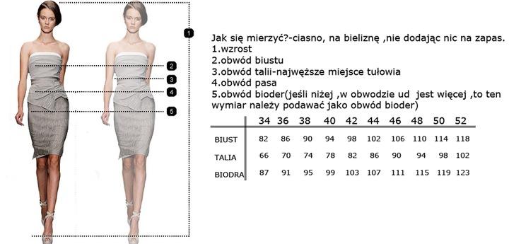 CAMILL 225 zielona sukienka bombka z dekoltem 48 8522275580 Odzież Damska Sukienki wieczorowe XB HJJSXB-2